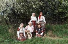 Участники ансамбля Народный праздник
