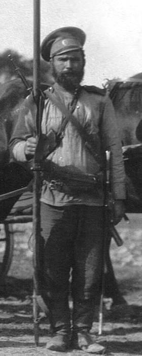 Казак 17-го Донского казачьего генерала Бакланова полка