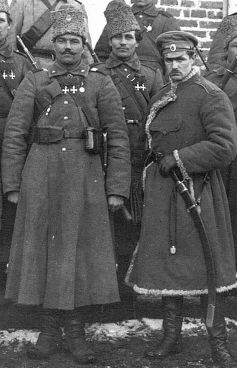 Подпись: Казаки 17-го Донского казачьего генерала Бакланова полка