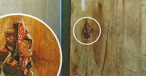Часто музейщики Ветковского музея находят только доски с фрагментами иконописи